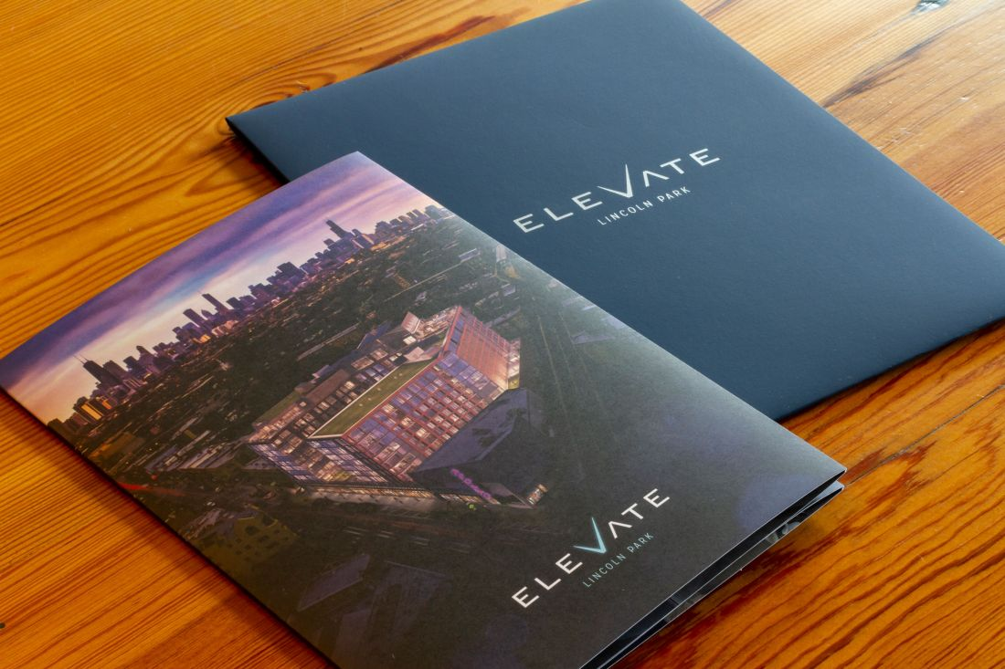 Elevate Lincoln Park Brochure Envelope