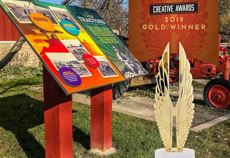 2019 Gold Hermes Creative Awards